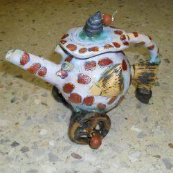 Чайник «Рыба на колесах»