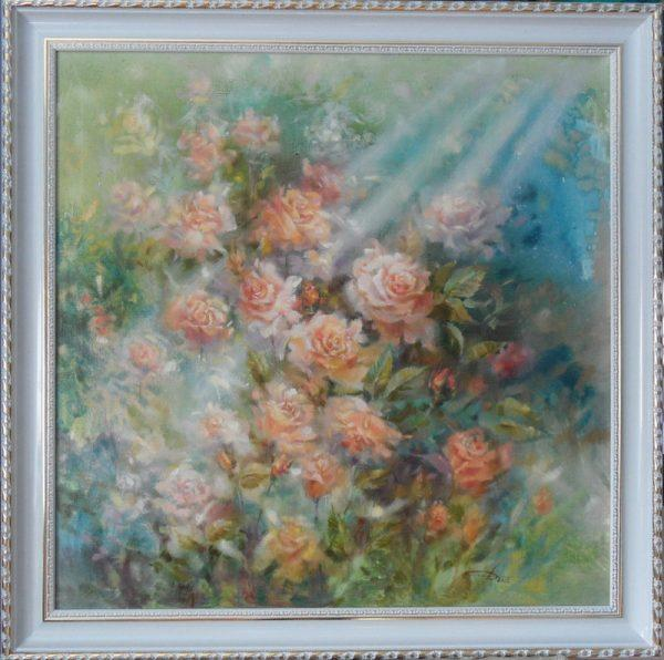 Картина В саду
