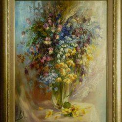 """Картина """"Лесные цветы"""""""