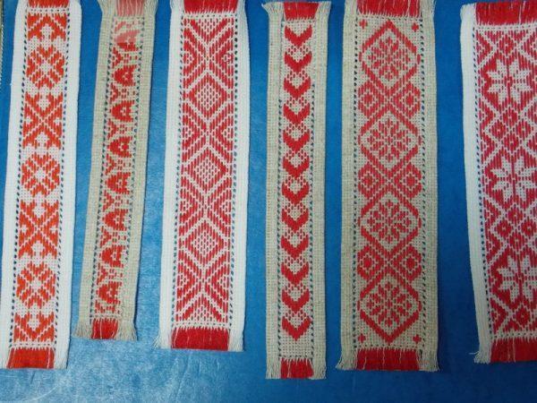Закладки-вышиванки