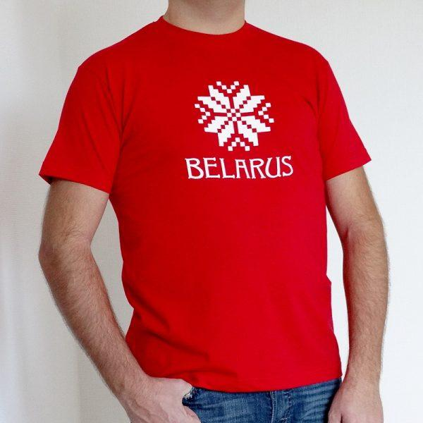 "Футболка мужчынская ""BELARUS ARNAMENT"""
