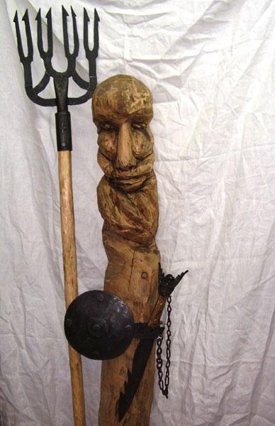 """Скульптура """"Вадзянiк"""" (Артнаив)"""