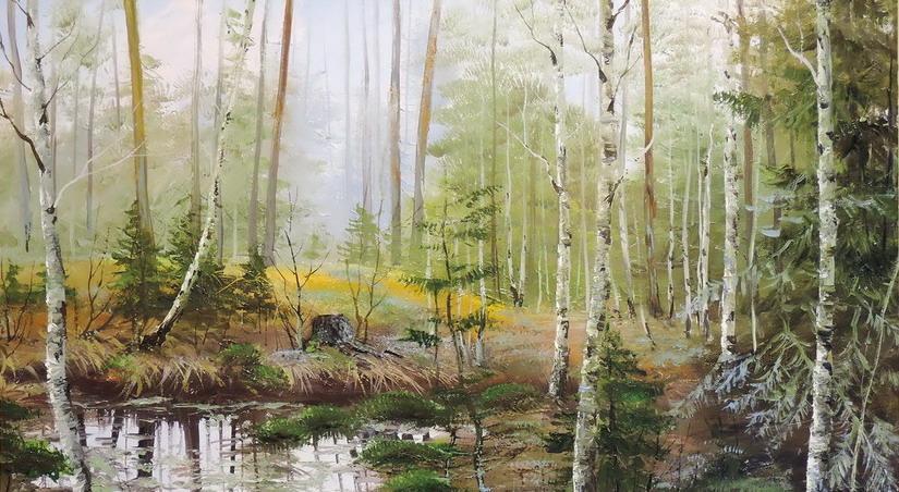 Выставка Владимира Семитко «Времена года»