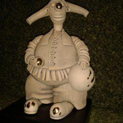 "Скульптура ""Клоун. Коверный"""