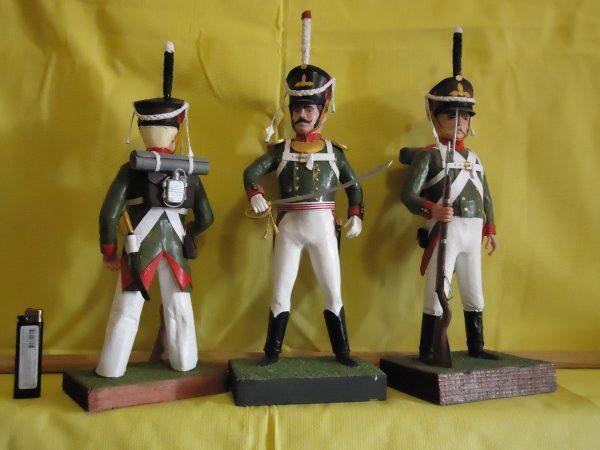 Солдаты 1812 год