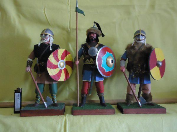 Солдаты и рыцари средневековья