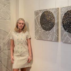 Платье с графическим рисунком