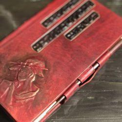 """Эксклюзивная книга в кожаном переплете """"Мудрые мысли великих людей"""""""