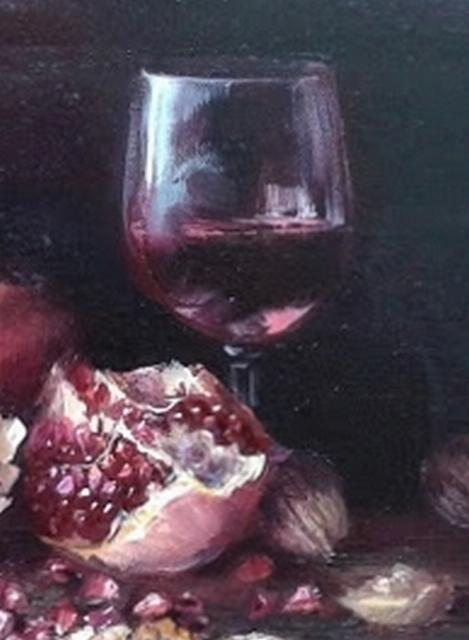 "Картина ""Гранатовое вино"""