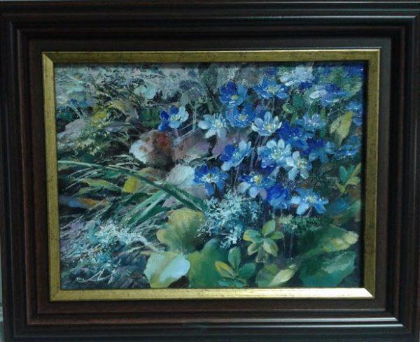 "Картина ""Первоцветы"" 24х30"