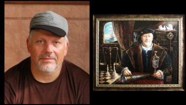 Картина Портрет в ист. костюме