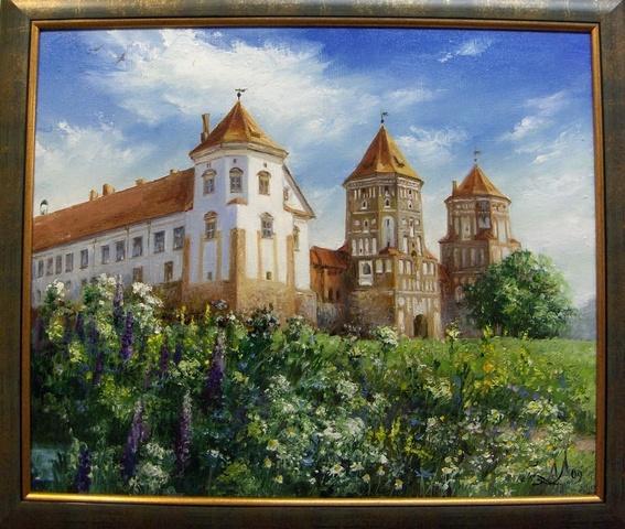 """Картина """"Мирский замок"""""""