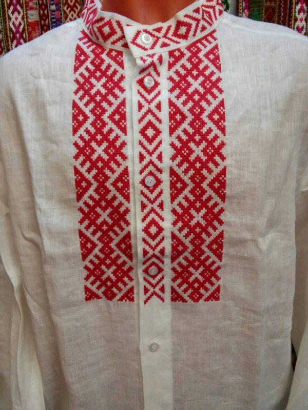 Вышиванка рубашка белорусская мужская