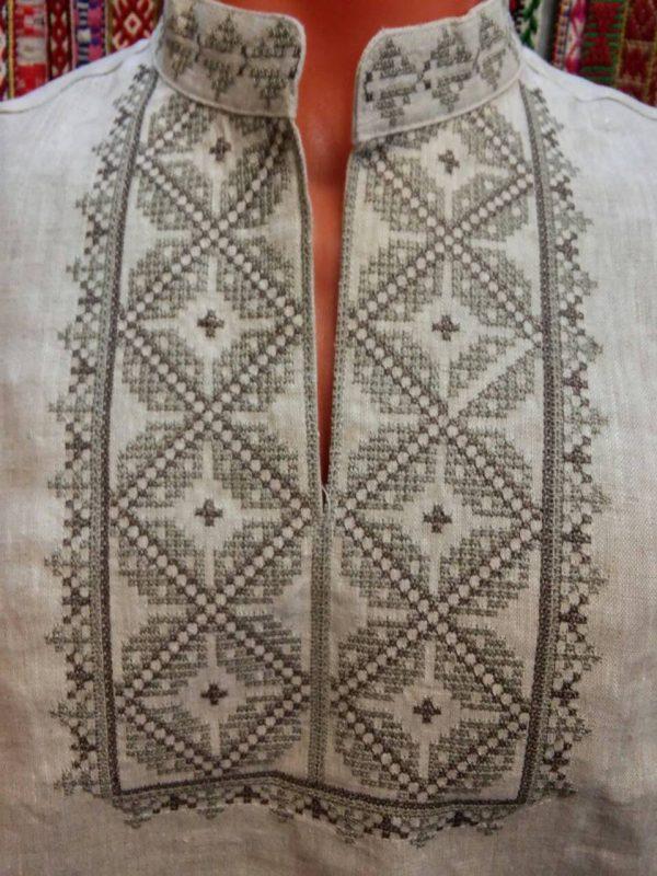 Рубашка вышиванка белорусская мужская