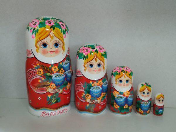 "Матрешка ""Льноводка"""