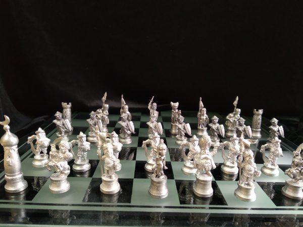 """Шахматы миниатюрные """"Средневековые войны"""""""