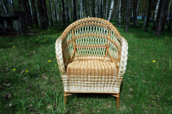 Мебель из лозы (гарнитур: диван, 2 кресла и журнальный столик) (Копировать)