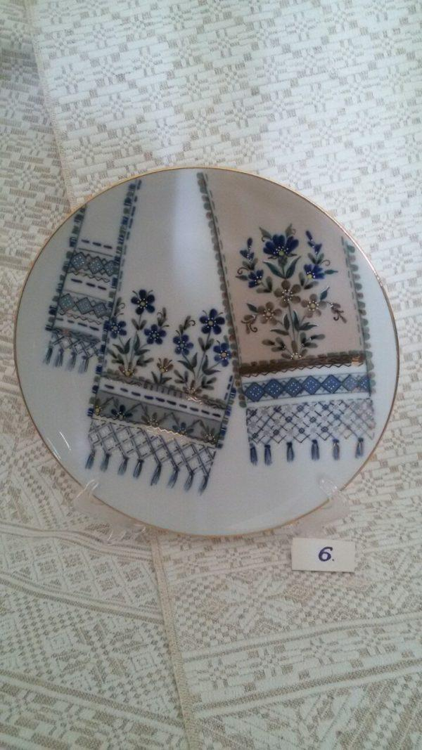 """Сувенирная тарелка """"Слуцкие пояса"""""""