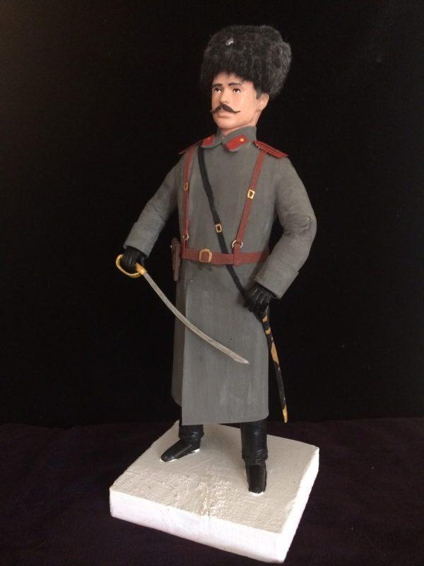Офицер периода начала ХХ века. Казак