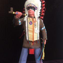 Воин - индеец
