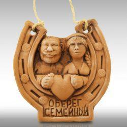 """Оберег-подкова """"Семейный"""""""