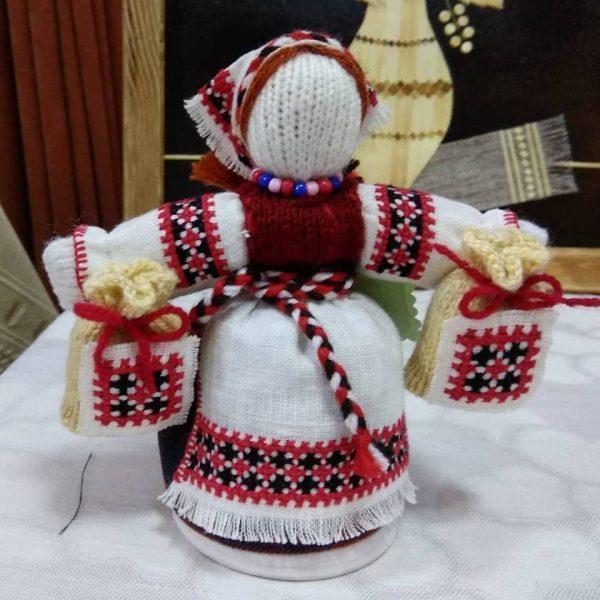 Кукла в вышиванке (Лялька у народным строi)