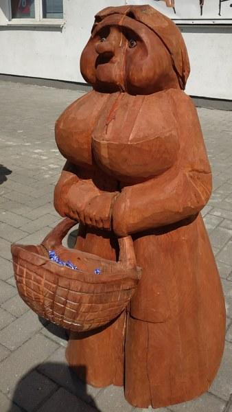 "Садовая скульптура ""Баба Янка"""