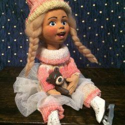 """Кукла """"Фигуристка"""""""
