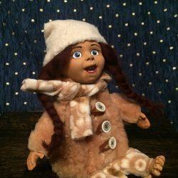 """Кукла """"В шубке"""""""