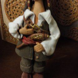 Керамическая фигурка,скульптура.Пират.