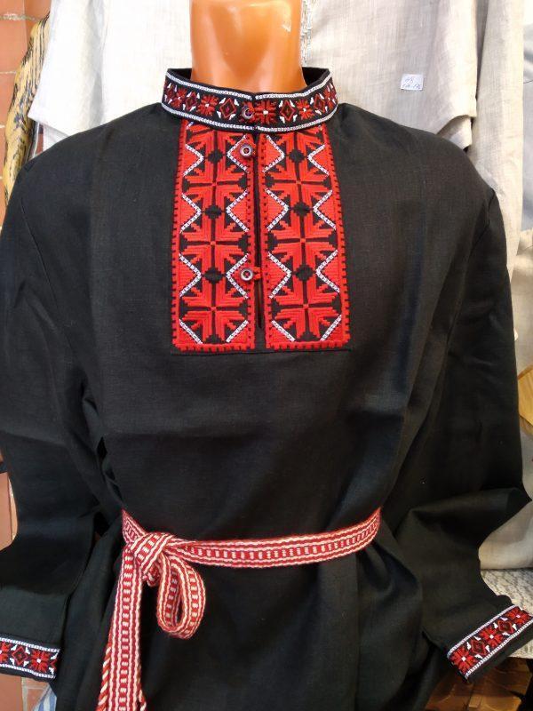 Мужская рубашка с орнаментом
