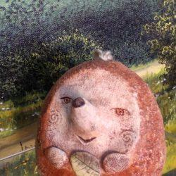 """Скульптура """"Оооо"""" (по мотивам картины Мунка """"Крик""""0"""