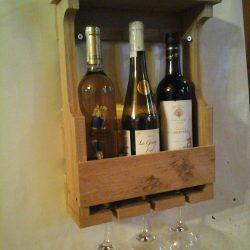 Подарочный ящик для бутылки (бутылок)