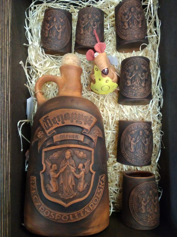 Пивная кружка с гербом Минска