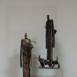 """Скульптура """"Летчик"""""""