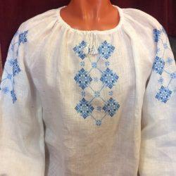 Народная рубашка женская с вышивкой