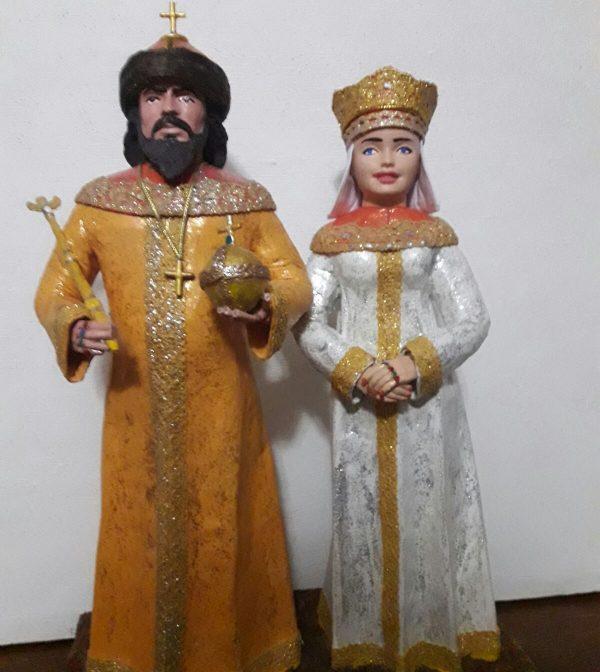 """Историческая миниатюра """"Анастасия Слуцкая"""""""