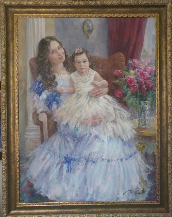 Картина. Семейный портрет