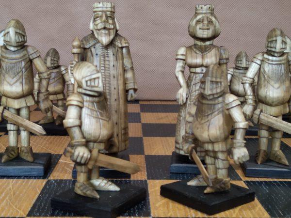 """Шахматы """"Средневековые воины"""""""