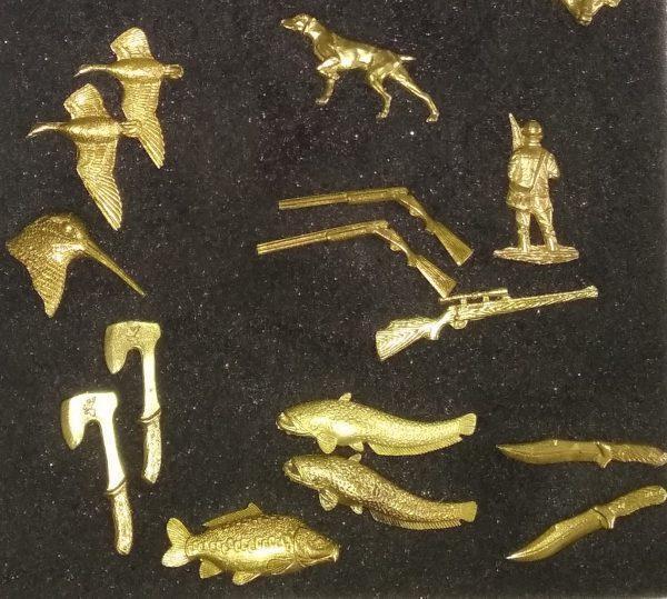 Значок для охотника или рыбака