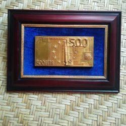 "Подарочное панно ""500 евро"""