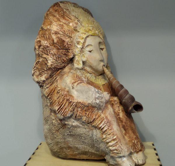 """Скульптура """"Идейская флейта звучит"""""""