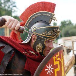 Шлем римского легата (реконструкция)