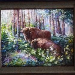 Картина маслом купить в галерее Славутасть