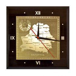 Часы с контурами Беларуси