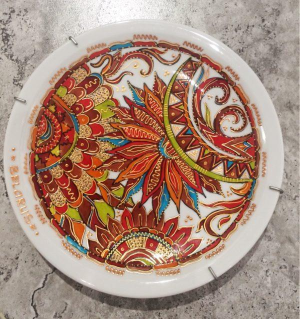 """Декоративная тарелка-панно №1 из серии """"Я дарю вам радость"""""""