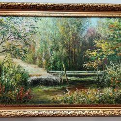 """Картина """"Лесной ручей"""""""
