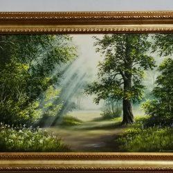 """Картина """"Солнечные лучи"""""""