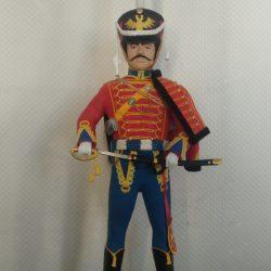 """Скульптурка """"Офицер полка пешей гвардии ВКЛ 1792 год"""""""