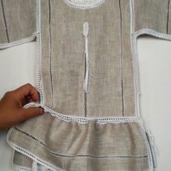 Платье льняное для девочки 2-3 лет